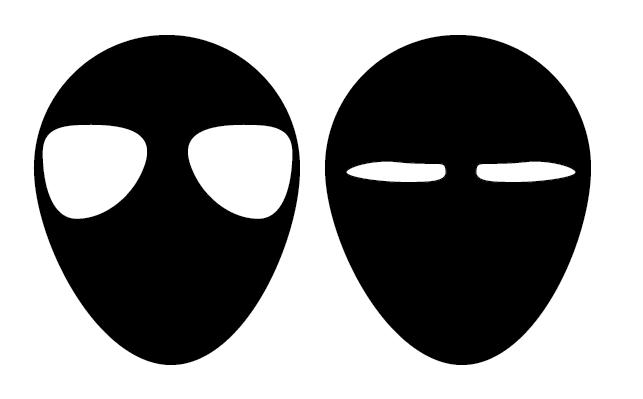 Image of eye shapes